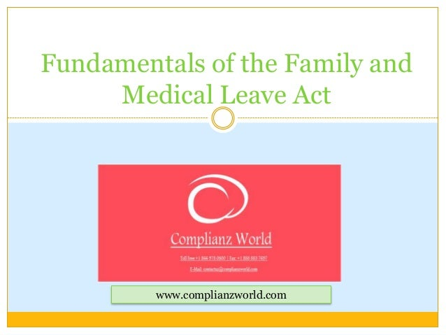 Webinar or Online Training  on  Fundamentals of the family and medical leave act