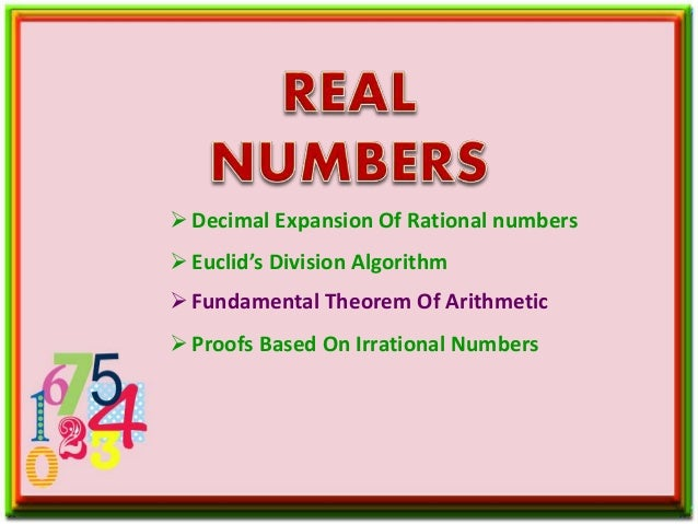 Real Numbers Problem Based On Fundamental Theorem Of