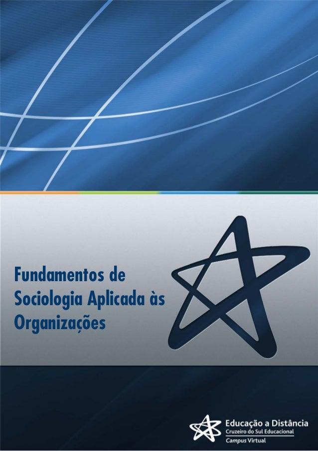 Fundamentos de Sociologia Unidade I