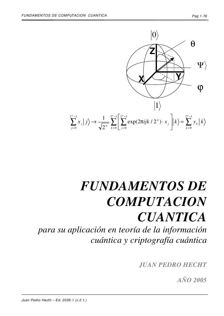 FUNDAMENTOS DE COMPUTACION CUANTICA                                                  Pag 1-76                             ...