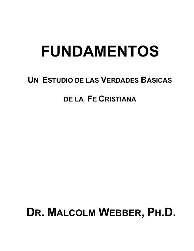 FUNDAMENTOS - Malcolm Webber