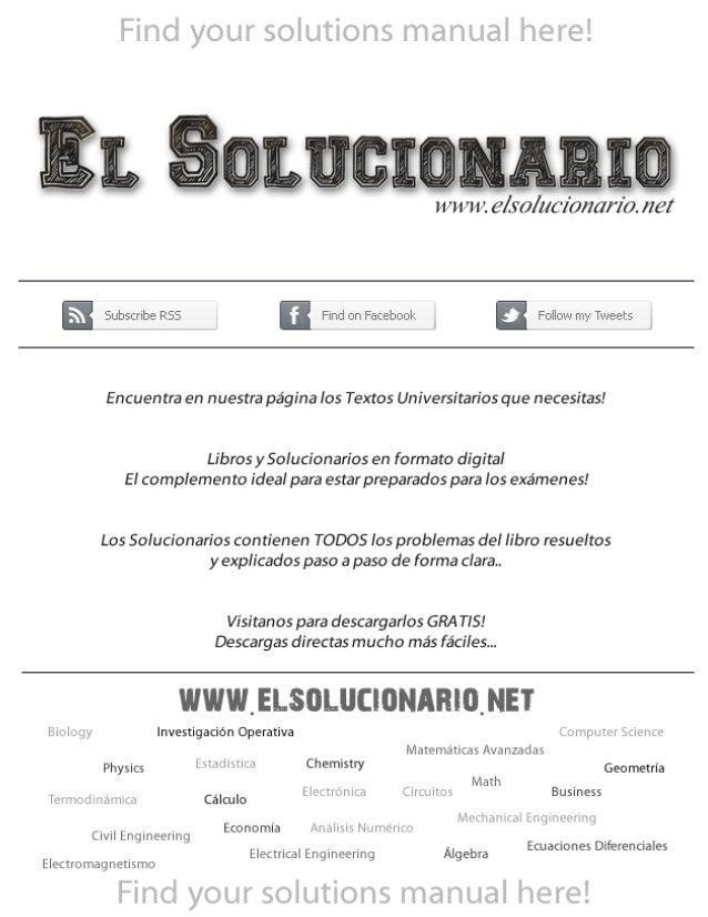 www.elsolucionario.net