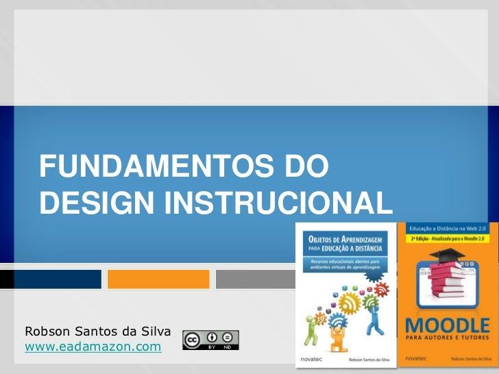 Fundamentos do design instrucional para ead