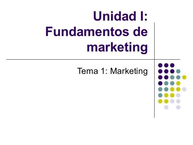 Marketing - fundamentos M y P 2013 FAD