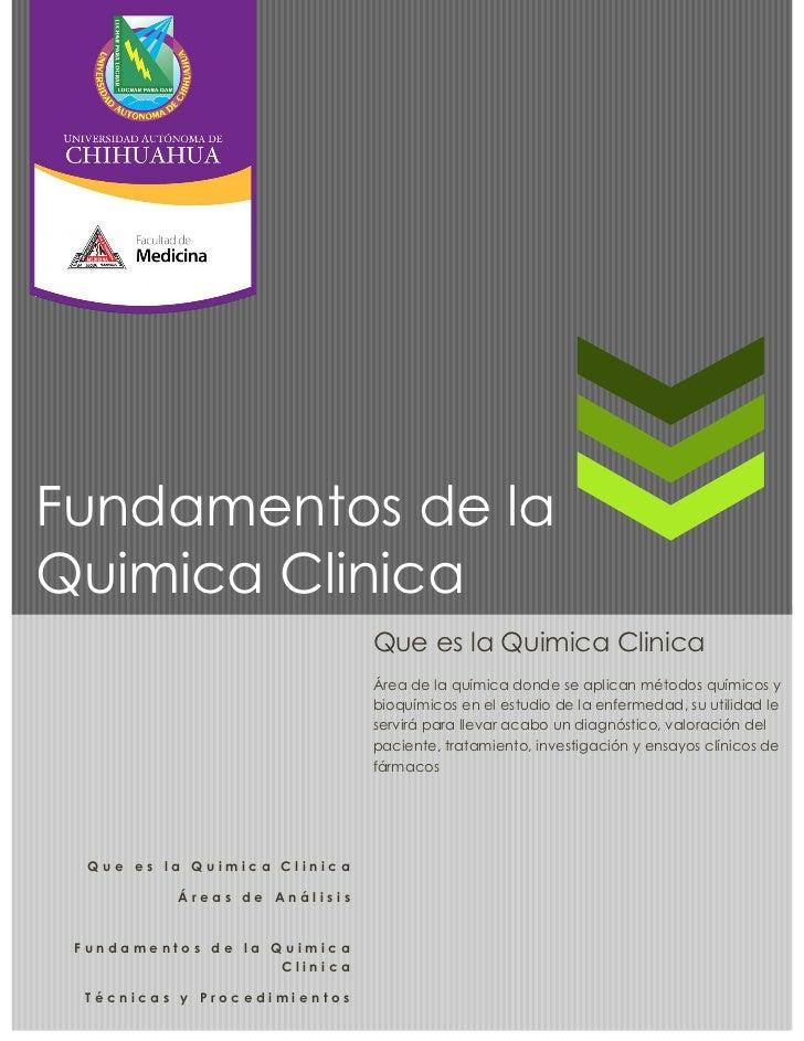 Fundamentos quimica clinica