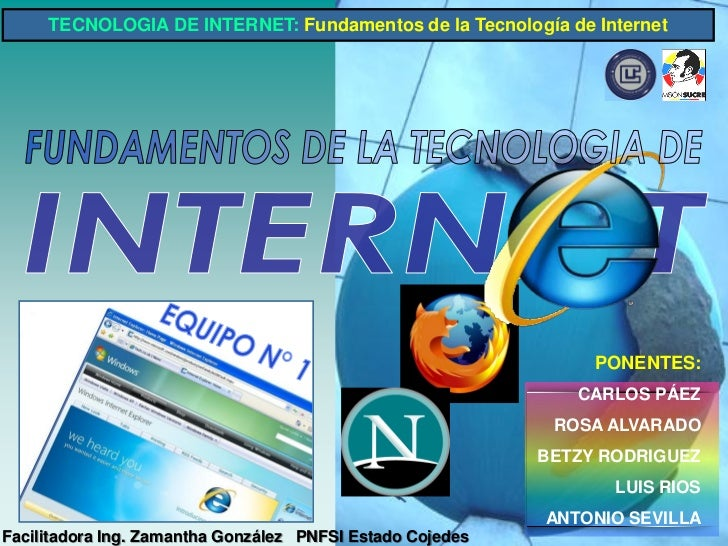 Fundamentos Tecnologia Internet