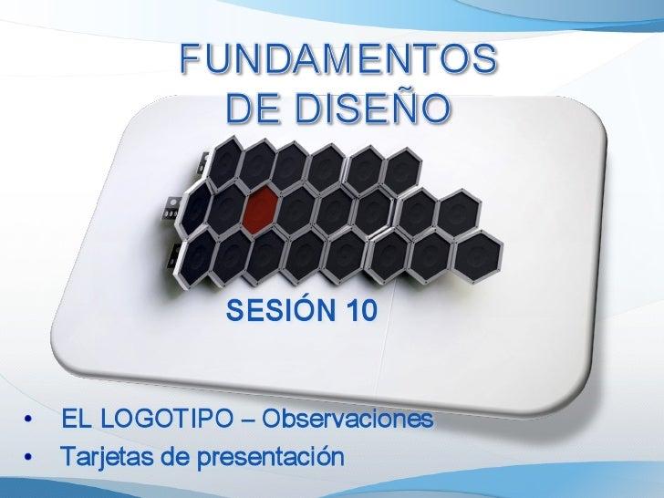 Fundamentos de Diseño - Sesion09