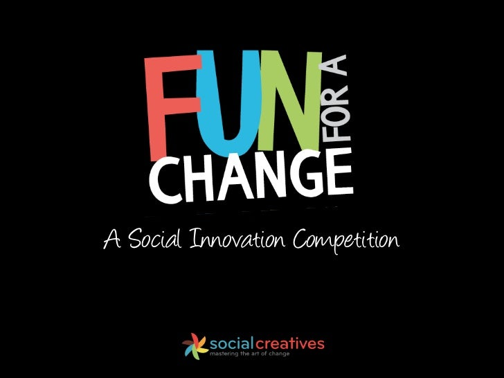 A Social Innovation Competition