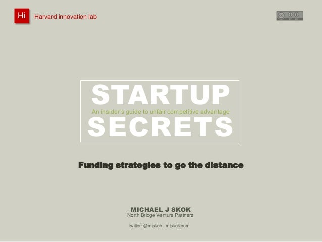 Funding strategies to go the distance