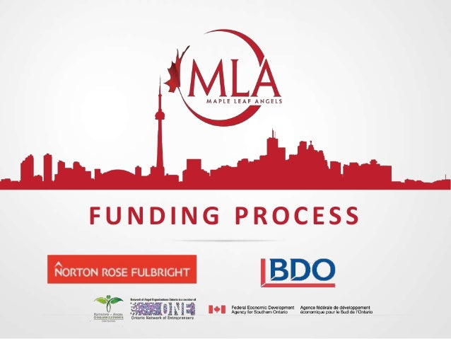 The Maple Leaf Angels Funding Process