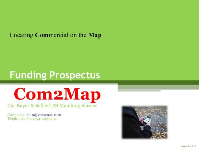 Location Based Services GPS apps -  com2map