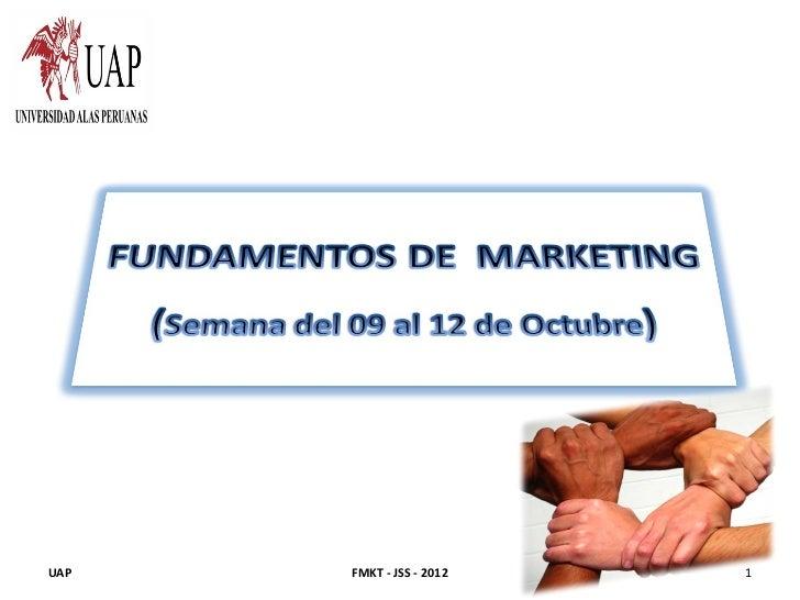 UAP   FMKT - JSS - 2012   1