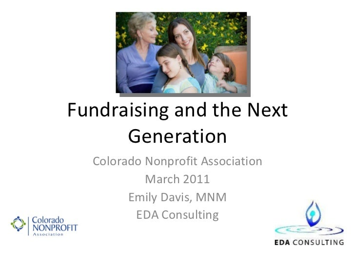 Fundraising and the next gen 3.10.11