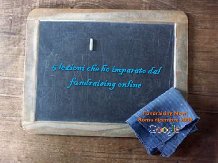 Fundraising Now! Google
