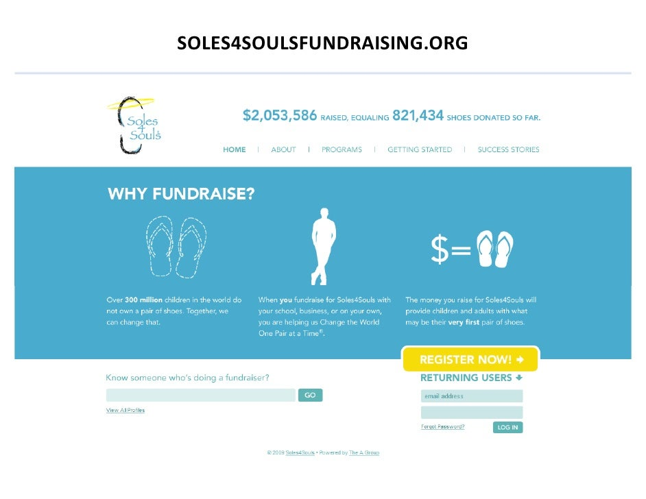 Soles4SoulsFundraising.org