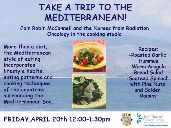 Food Fun Friday April 20 Mediterranean Diet