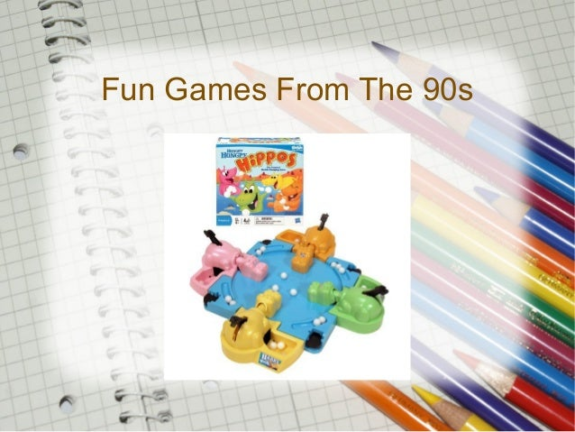 Fun Games From The 90s
