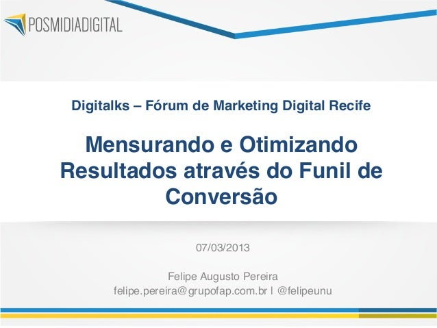 Digitalks – Fórum de Marketing Digital Recife