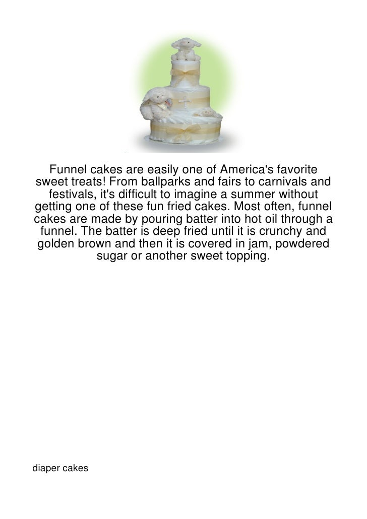 Funnel cakes are easily one of Americas favoritesweet treats! From ballparks and fairs to carnivals and   festivals, its d...