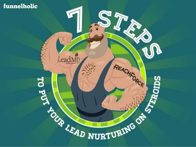 7 Steps:  To Put Your Lead Nurturing on Steroids