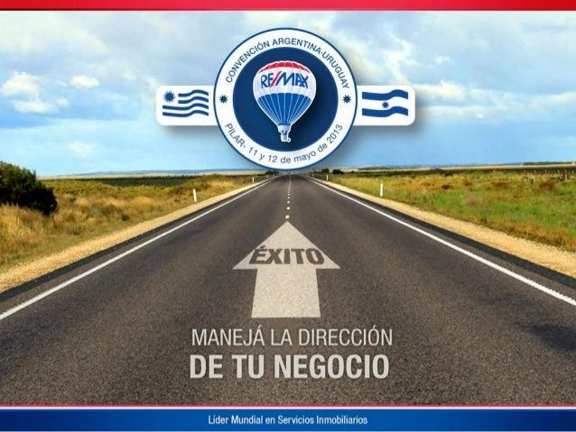 Charla en la Convención de Ventas REMAX 2013