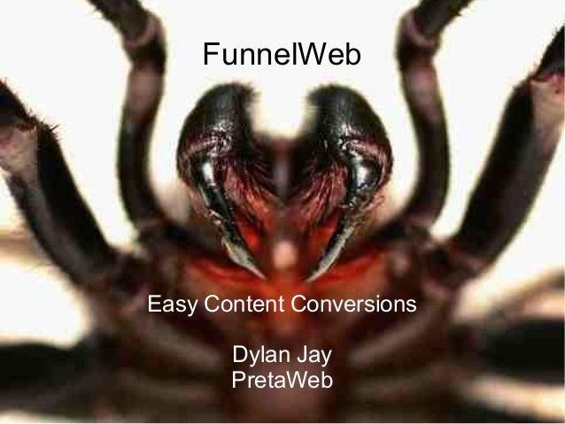 Funnelweb ploneconf2010