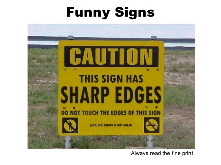 Funny Backyard Signs : Funny & Humorous Signs