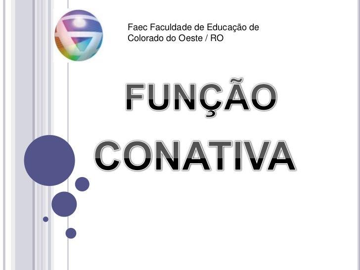 Função conativa (fuçoes de linguagem)