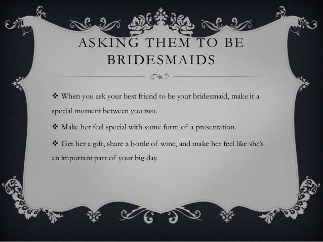Fun To Have With Your Bridesmaids