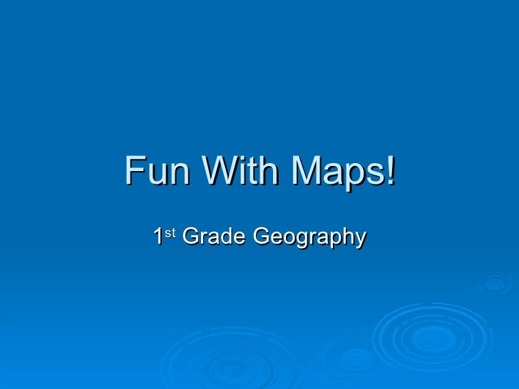 Fun With Maps!