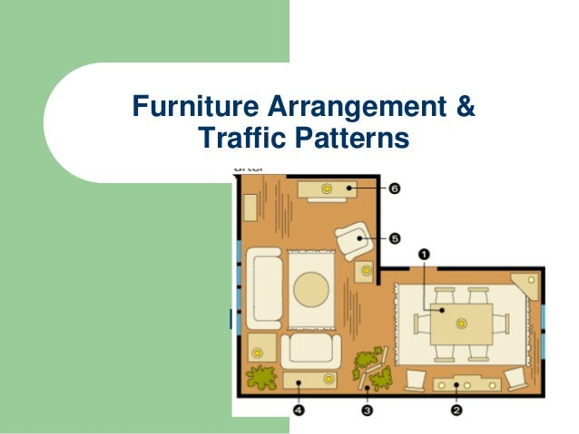 Furniture Arrangement And Traffic Patterns