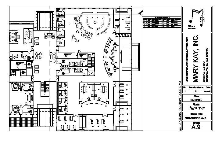 Furniture Floor Plan   B
