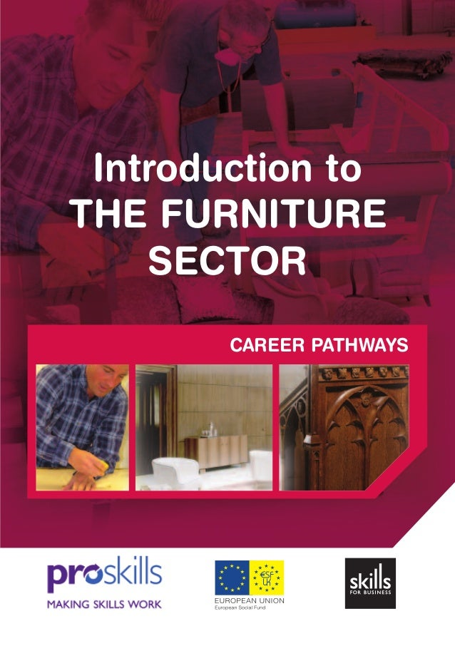 CAREER PATHWAYS Introduction to THE FURNITURE SECTOR