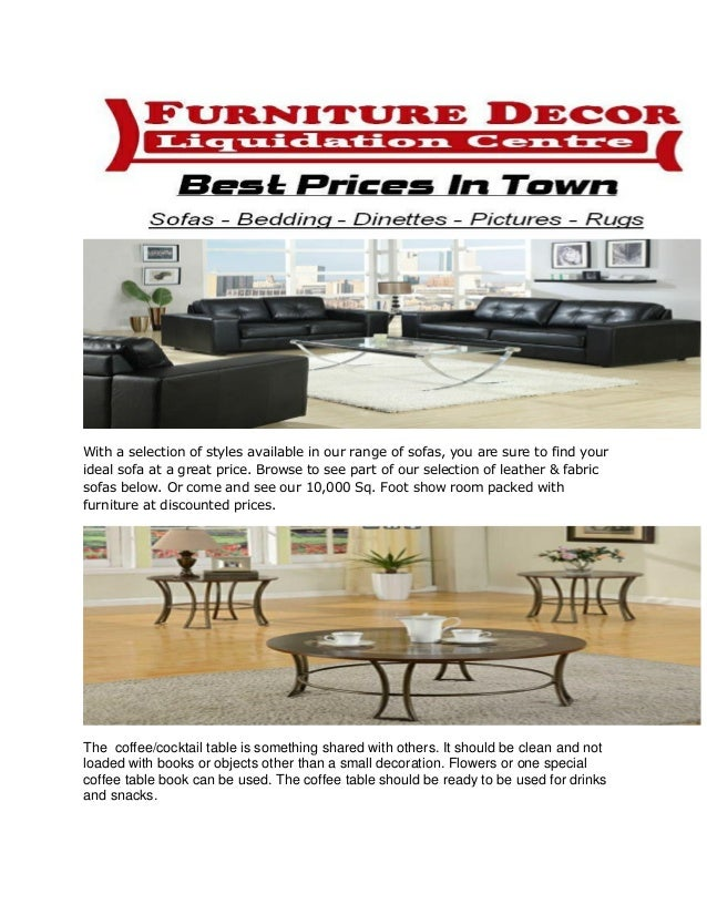 Furniture Stores In Ontario Canada