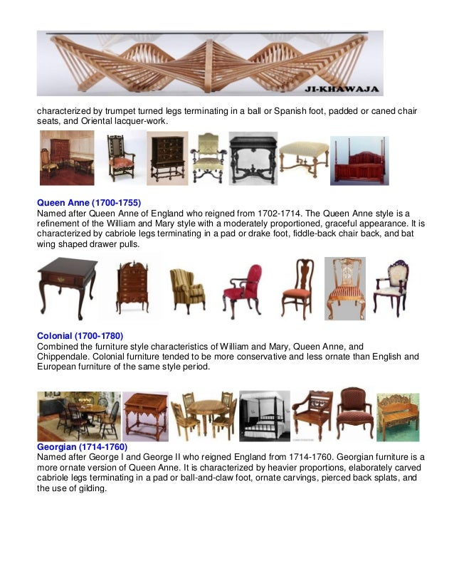 furniture style guid furniture in style