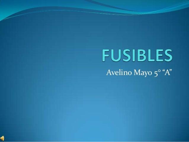 "Avelino Mayo 5° ""A"""