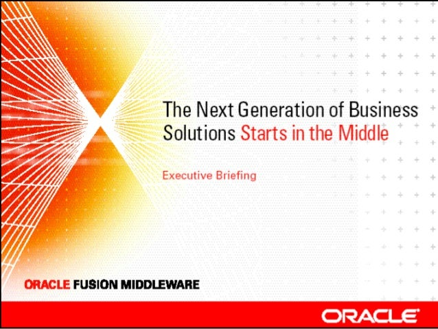 Oracle's Fusion Strategy Thomas Kurian Senior Vice President Oracle Server Technologies