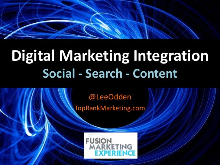 Optimize Strategy - Integrated SEO, Social Media & Content Marketing #fusionmex