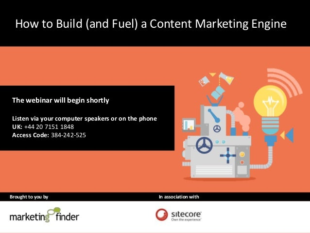 How to Build (and Fuel) a Content Marketing Engine