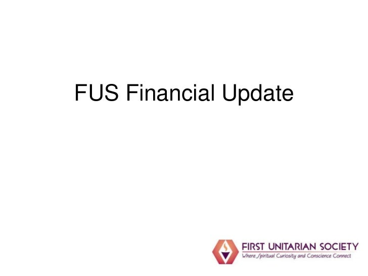 FUS Mid-year Financial Update January 2012