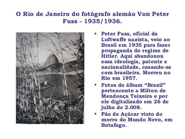 Peter von Fuss: his Rio de Janeiro wonderful photos