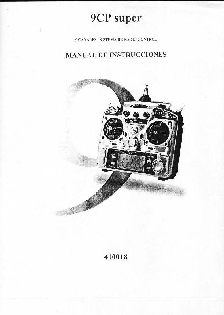 manual Futaba 9 Cp Super