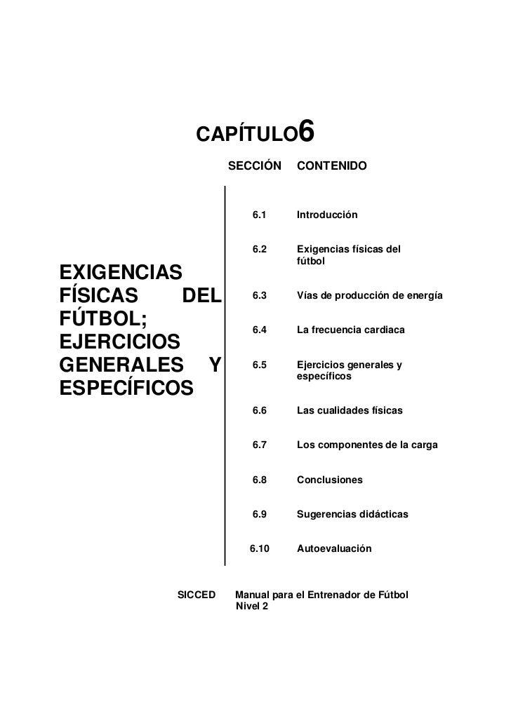 CAPÍTULO6                    SECCIÓN     CONTENIDO                          6.1      Introducción                         ...