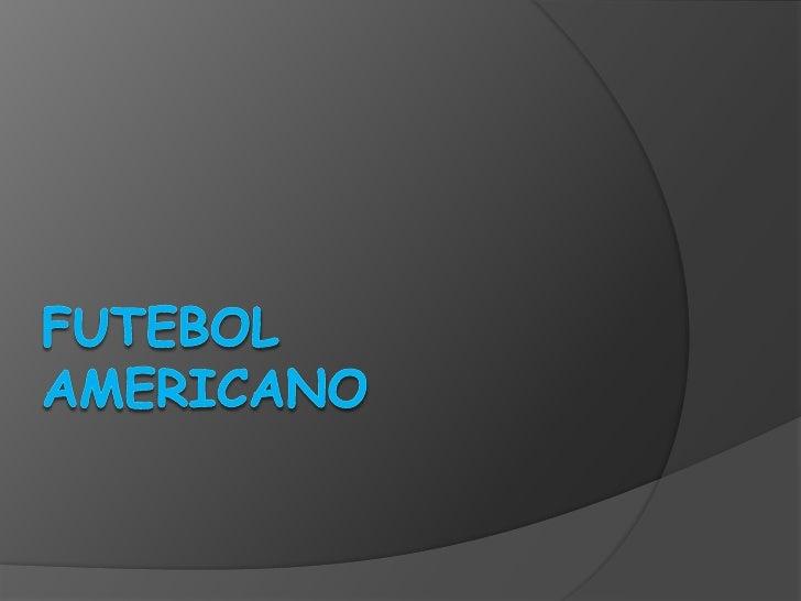 Futebol Americano<br />