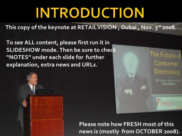 "To see ALL content, please first run it in SLIDESHOW mode. Then be sure to check ""NOTES"" under each slide for  further exp..."