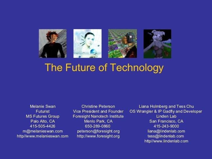 Future Of  Technology