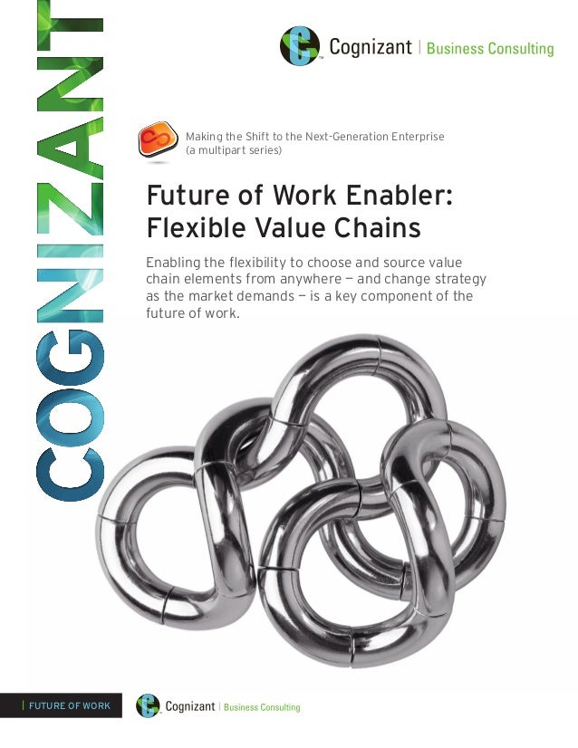 Making the Shift to the Next-Generation Enterprise (a multipart series)  Future of Work Enabler: Flexible Value Chains Ena...