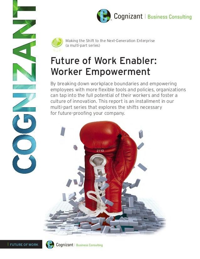 Future of Work Enabler: Worker Empowerment