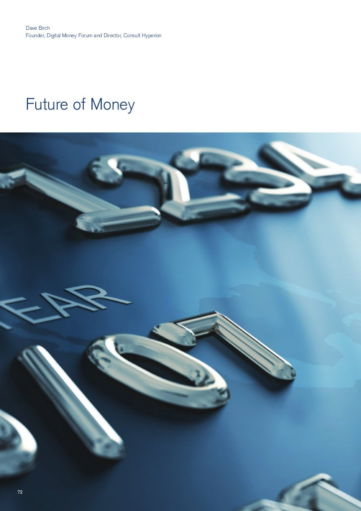 Future Agenda   Future Of Money