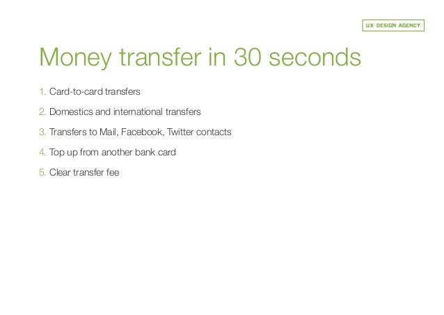 Clear Bank Card Top up From Another Bank Card